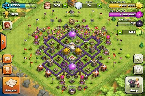 layout level 7 town hall clash of clans tips town hall level 7 layouts