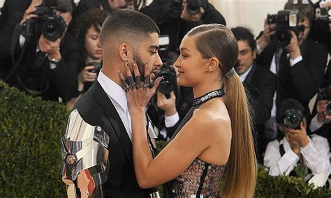 zayn malik didn t accompany girlfriend gigi hadid at met