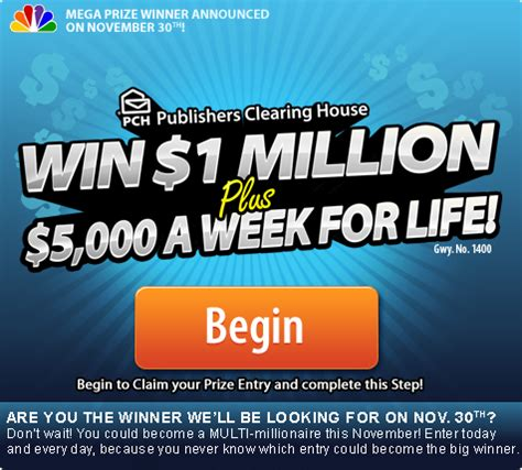 How To Win The Publishers Clearing House - how to win at pch without really trying pch blog
