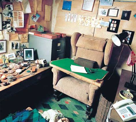 writers rooms roald dahl books  guardian