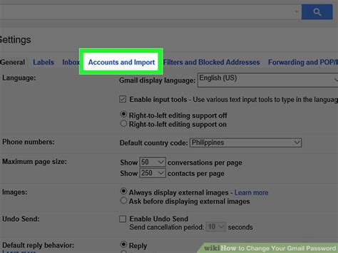 gmail password reset tool 4 ways to change your gmail password wikihow