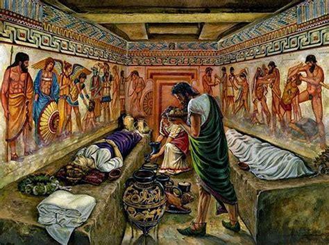 vaso etrusco valore funerali e sepolture 1 2 romanoimpero