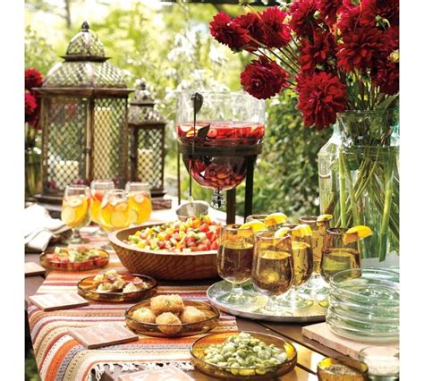 buffet table settings outdoor buffet table setting wine tasting