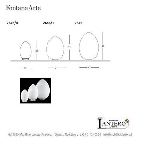 lada uovo fontana arte prezzo illuminazione fontana arte vendita promozione