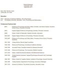 psychology cv template psychology resume berathen