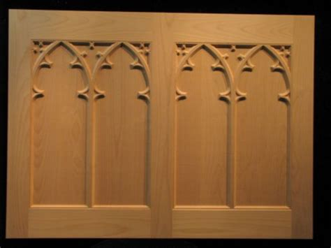 Decorative Columns Gothic Chapel Doors Cabinetry And Doors