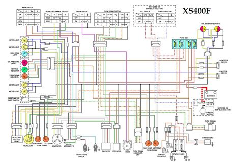 wiring diagram xs400 free wiring diagrams