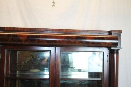 Curio Cabinets New York Outstanding Empire China Curio Cabinet Circa 1830s By