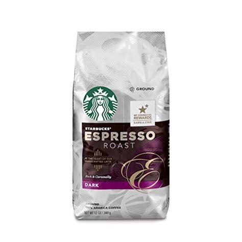 espresso ground coffee starbucks espresso roast coffee ground 12 ounce bags
