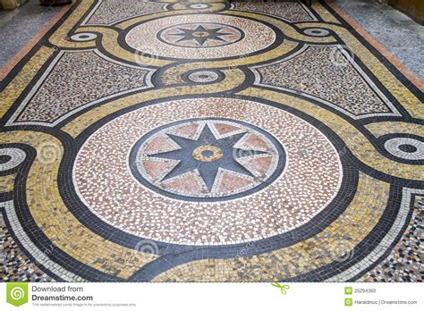 pavimento stato roma pavimento di mosaico storico parigi fotografia stock
