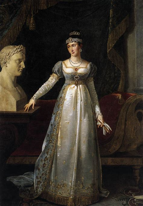 painting of princess princess pauline borghese by lef 200 vre robert