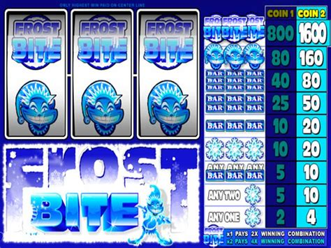 play slot frost bite  microgaming