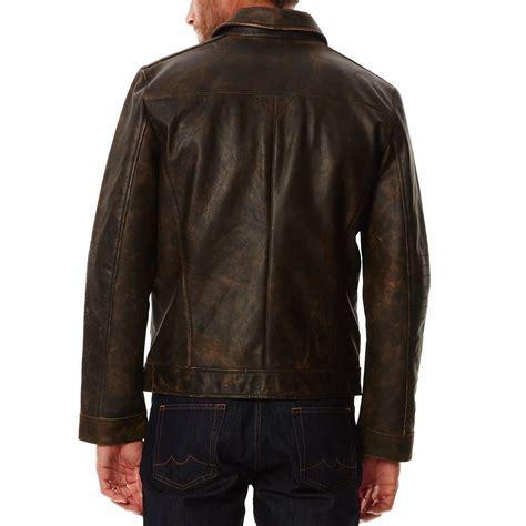 chaqueta de cuero marron chevignon chaqueta de cuero marr 243 n brandalley