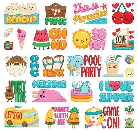 viber doodle ideas stickers viber elebea summer png 600 215 575 vector