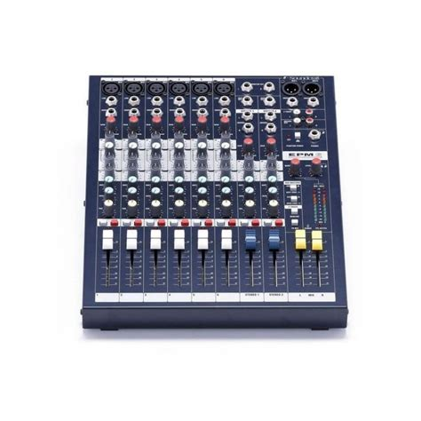 Soundcraft Epm 6 soundcraft epm 6 mixer desktop and enracar optional rw5744 of 6 mic