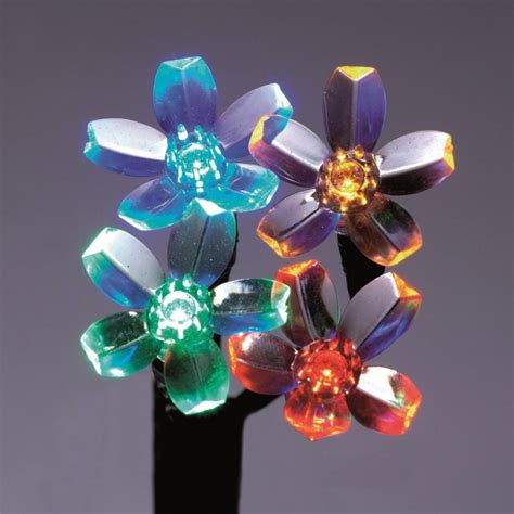 premier 30cm multi coloured blossom tree with built in
