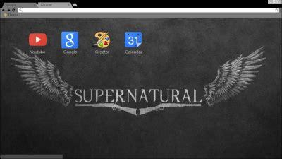 theme google chrome supernatural supernatural chrome themes themebeta
