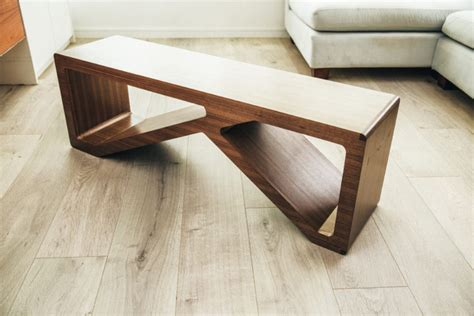 wooden exercise bench the habit furniture designed multifunctional at home