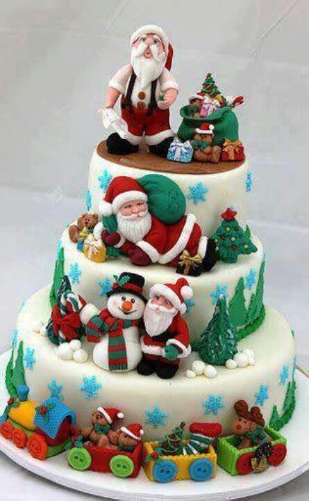 Make Me A Cake Next Door by Bello Tartas De Navidad Elfos Preparados Para La