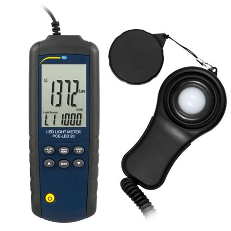 what is a light meter led light meter pce led 20 pce instruments