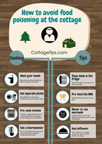 how to avoid food poisoning cottage tips