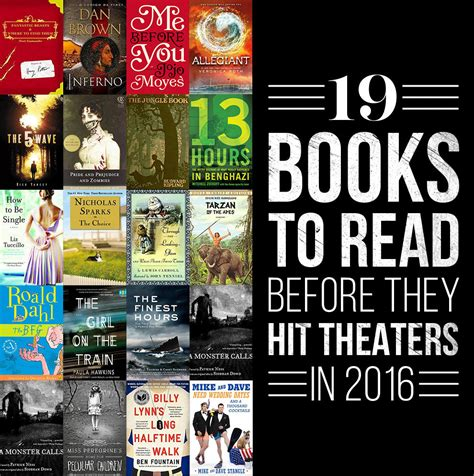 libro how to read the books to read before they hit the big screen in 2016 lower macungie library