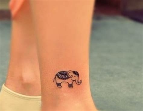 small tattoos for legs elephant your tattoos 187 small elephant on