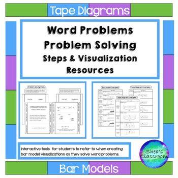 diagram problem solving interactive notebook