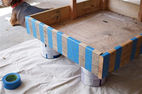 shipping pallet bed diy shipping pallet dog bed