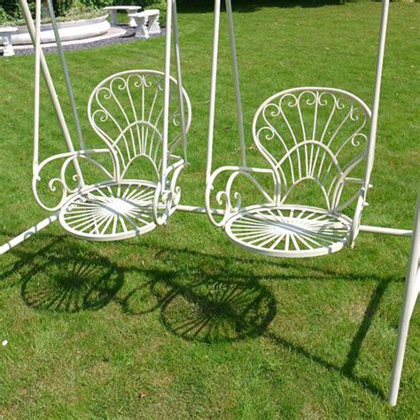 metal garden swing seat metal garden swing chair 2 seats garden swings candle