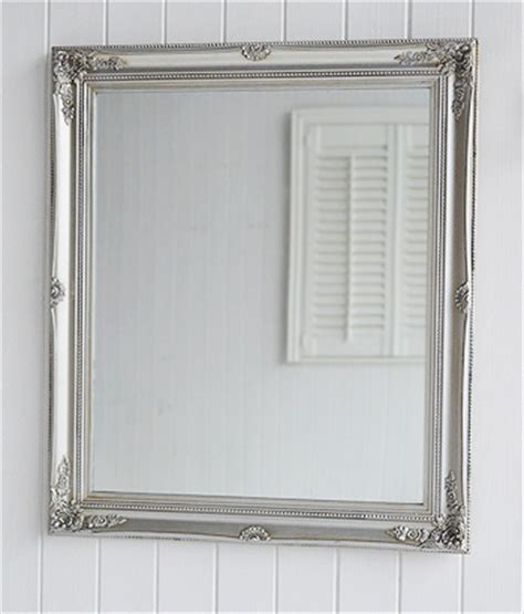silver wall mirrors decorative large decorative silver wall mirror from the white lighthouse