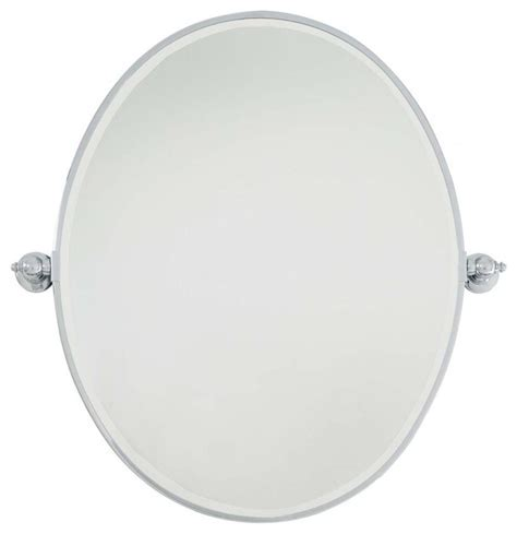 oval pivot bathroom mirror minka lavery pivot mirrors large oval mirror traditional bathroom mirrors by lighting and