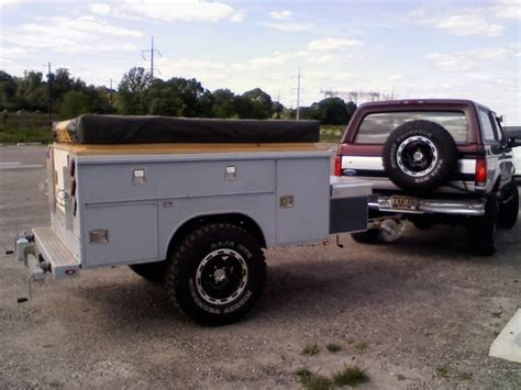 The Bed Trailer by Show Us Your Truck Bed Trailers Expedition Portal