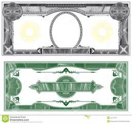 blank banknote layout stock photos image 16711913
