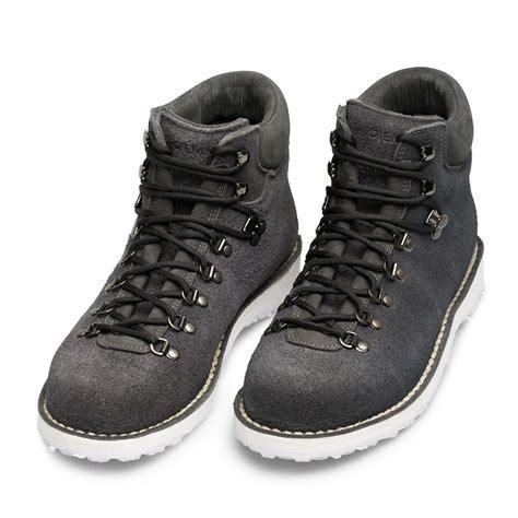 diemme roccia vet suede boots in black for lyst