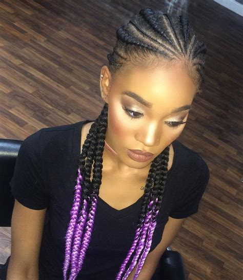 cornrow hair with unbraided ends 15880 best images about natural hair style braids on