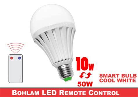 Lu Bohlam Led Remote Kontrol 10 Watt 1 Lu Hemat Energi Nyalakan Led Dengan Remote Harga