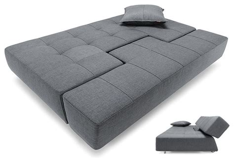 find a bed horn deluxe excess sofa bed in basic gray