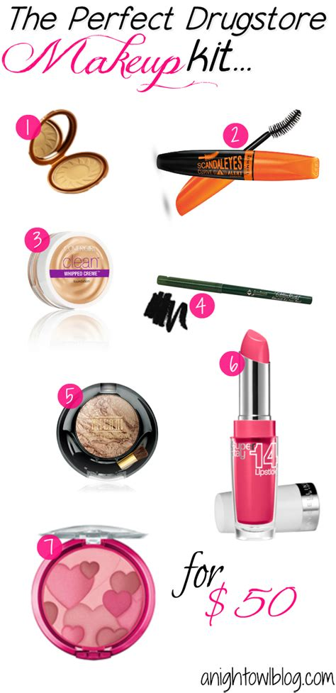 Makeup Kit Makeover the drugstore makeup kit for 50 a