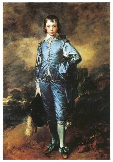 blue boy  thomas gainsborough art