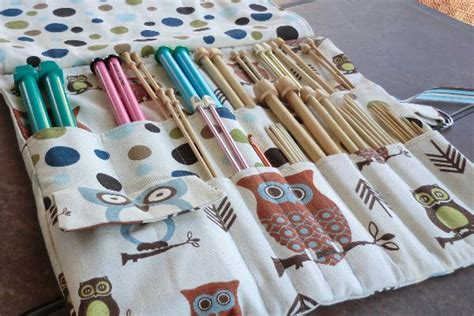 knitting needle roll tutorial knitting needle roll tutorial sew this