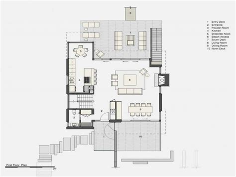 beach floor plans beach house floor plan beach narrow lot house plans floor