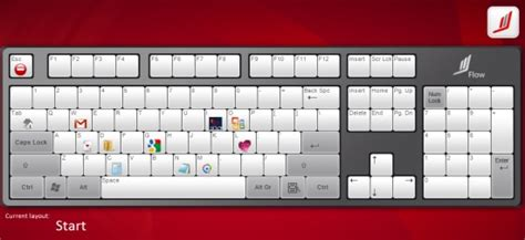 keyboard layout design software launch application programs by assigning hotkeys on
