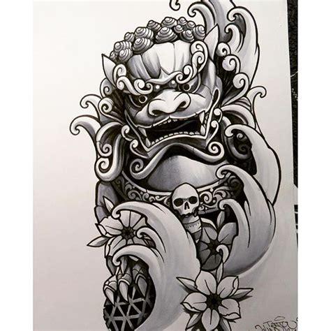 fu dog tattoo designs johnqtattoo さんのinstagramをピンしています en till foodog jq