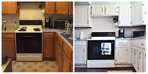 cheap kitchen makeover ideas before and after you won t believe that this kitchen renovation only costs 100