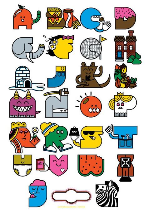 printable whimsical alphabet letters 93 best images about alphabet charts that make the abc s