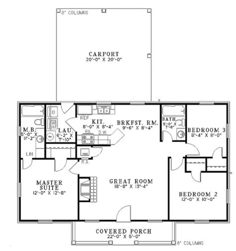 1100 square feet 1100 sq ft house plans 3 bedroom 700 square foot house