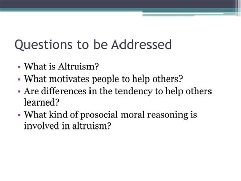 altruism question ppt altruism powerpoint presentation id 164345