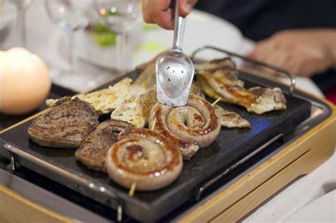 pietra ollare da tavolo cucina interattiva le cotture al tavolo agrodolce