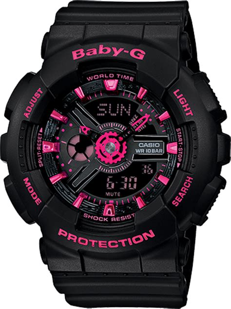 G Shock Baby G 5338 Ba 111 ba111 1a baby g black womens watches casio baby g